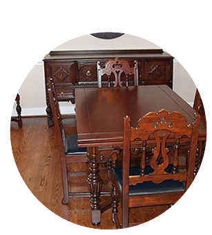 Restored Dining Room Furniture | Furniture Refinishing | Serving Chester, Philadelphia, Delaware County Pennsylvania